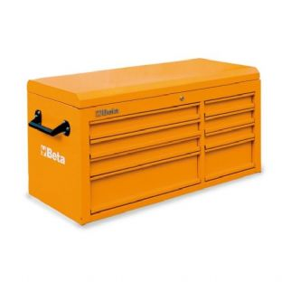 Beta C38T-O Top Chest With Eight Drawers (Orange)